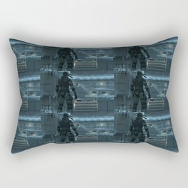 Huh, What's That Noise Metal Gear Solid Rectangular Pillow