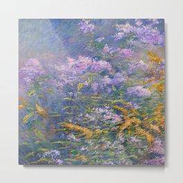 John Henry Twachtman Meadow Flowers Metal Print