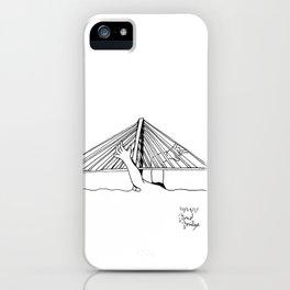 Bond Bridge as a Harp iPhone Case