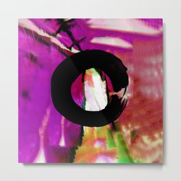 Enso Love 1M by Kathy Morton Stanion Metal Print
