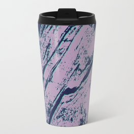 Lilac marble effect Travel Mug