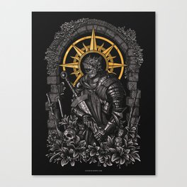 The First Flame Canvas Print