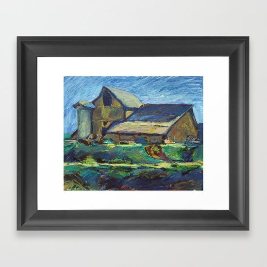 Ashland Barn Framed Art Print