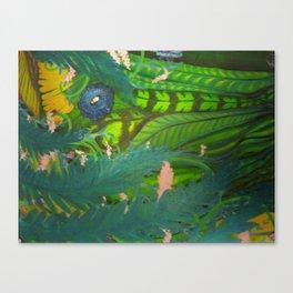 Hiden Canvas Print