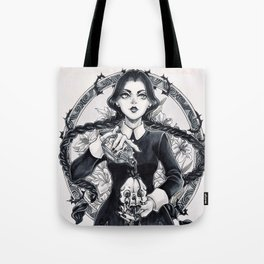Miss Wednesday Addams Tote Bag