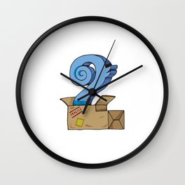 Number 2 Wall Clock