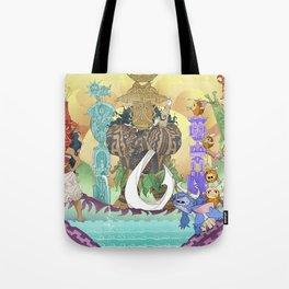 Tiki Hide & Seek Tote Bag