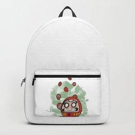 Daruma Doll Cartoon Backpack