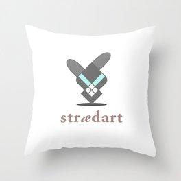 Straedart Throw Pillow