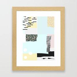 On the wall#4 Framed Art Print