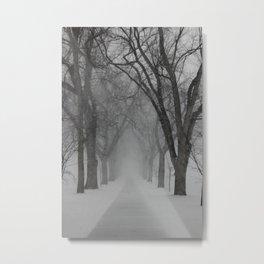 Winter Returns Metal Print