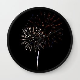 Fireworks 11 Wall Clock