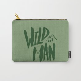 Wild Man x Green Carry-All Pouch