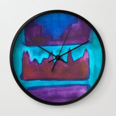 Color Abstract 1 Wall Clock