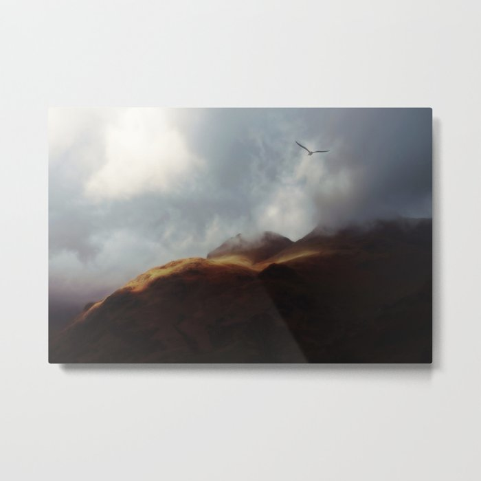 A Flair for the Dramatic Metal Print