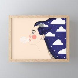 Wind Goddess Framed Mini Art Print