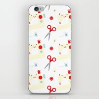 sewing iPhone & iPod Skins featuring Sewing fun by Samantha Eynon