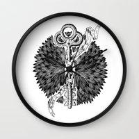 key Wall Clocks featuring Key by cemakyol