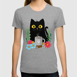 Coffee Cat T-shirt