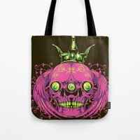 third eye Tote Bags featuring Third eye by Tshirt-Factory