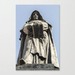 Giordano Bruno Canvas Print