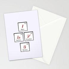 Chemisrty Stationery Cards