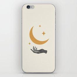 Moonlight Hand iPhone Skin