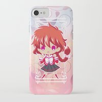 chibi iPhone & iPod Cases featuring Chibi Hikaru by Neo Crystal Tokyo