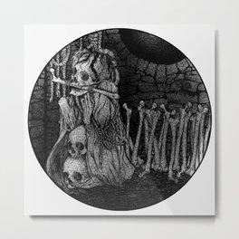 Decrepit Metal Print