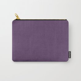 Elegant lilac lavender faux leather texture Carry-All Pouch