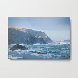 Cliffs at Port Metal Print