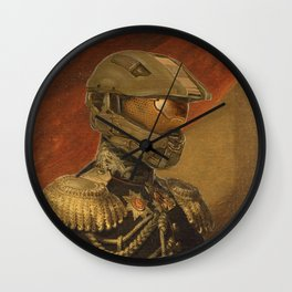 Halo Master Chief Spartan 117 Class Photo General Painting Fan Art Wall Clock