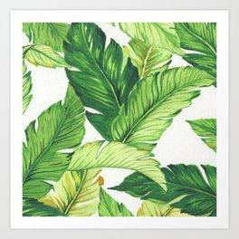 BANANA JUNGLE Art Print
