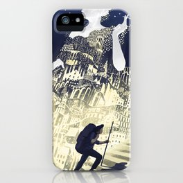Europa & The Traveller iPhone Case