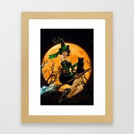 Bewitching Framed Art Print
