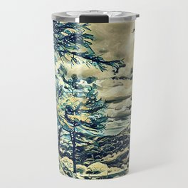 Oriental Hillside Travel Mug