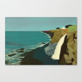 The Coast of California Canvas Print
