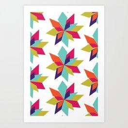 LA Stars - By Sew Moni Art Print