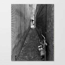 ...any path will take you there... Canvas Print