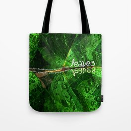 Leaves V8 Tote Bag