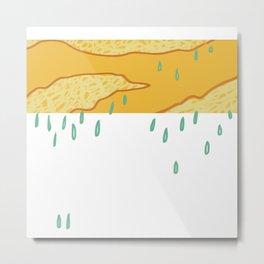 rainclouds Metal Print