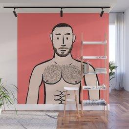Beard Boy: Adam Wall Mural