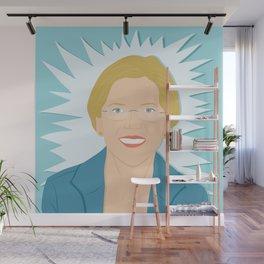 Elizabeth Warren | Bad Ass Women Series Wall Mural