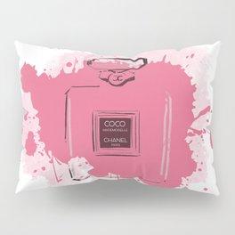 Pink Perfume Pillow Sham