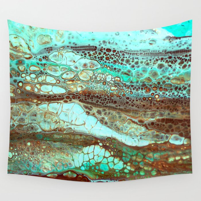 Abstract Annemarie Wall Tapestry