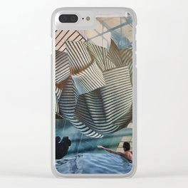 Human Flower I Clear iPhone Case