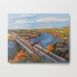 360 Bridge Metal Print