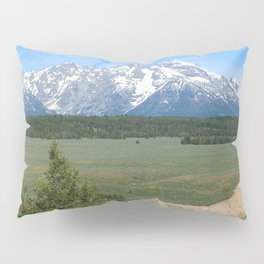 Snake River And Grand Teton Range Pillow Sham
