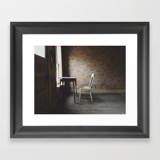 Inside Bannack Framed Art Print