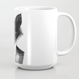 minima - dapper fox   noir Coffee Mug